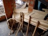Schodiště, zábradlí, žulové dlažby